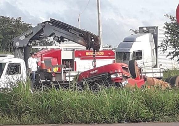 Acidente na BR-153 deixa óbito no perímetro urbano de Miranorte; vítima residia em Paraíso do Tocantins
