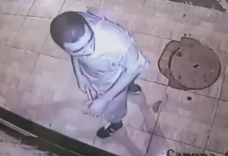 Câmeras de segurança flagram roubo a loja de celulares em Paraíso do Tocantins
