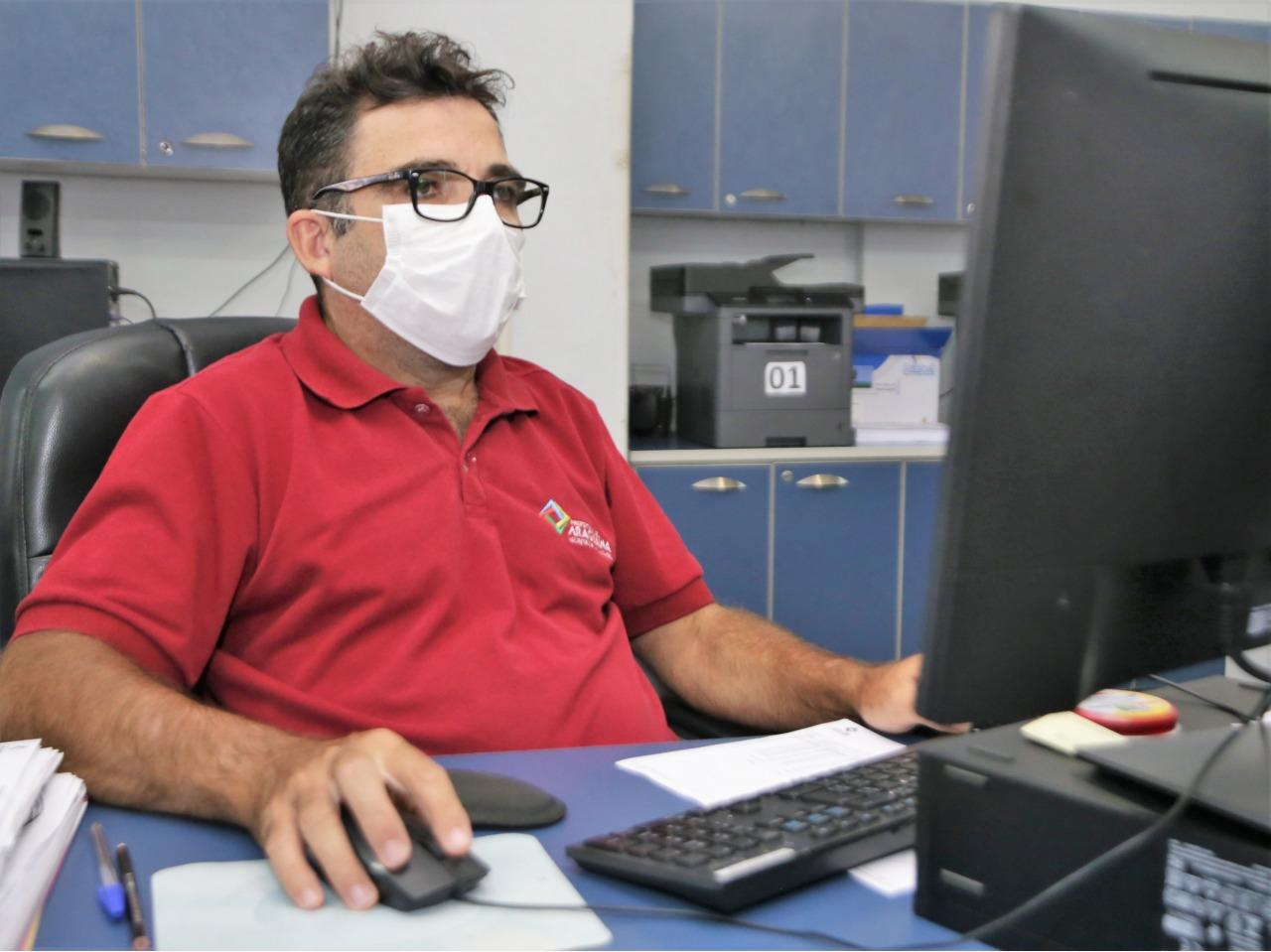 Prefeitura de Araguaína disponibiliza serviços on-line ou por telefone nas secretarias