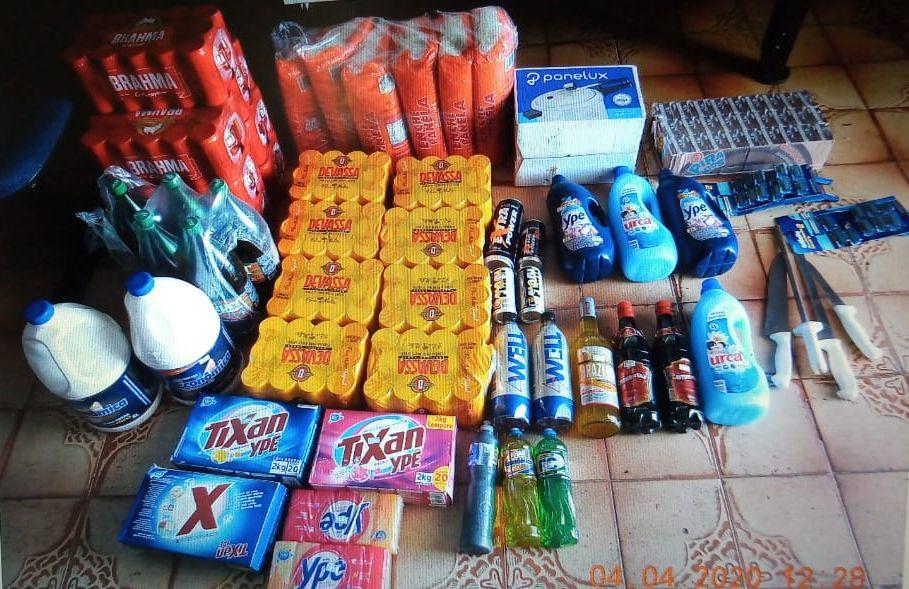 Polícia Civil localiza suspeitos e restitui mercadoria fruto de furto inusitado em Araguatins