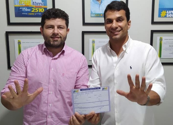 Vereador Ataíde Rodrigues se filia ao PSD do Senador Irajá e fortalece sua pré-candidatura a Prefeito de Paraíso