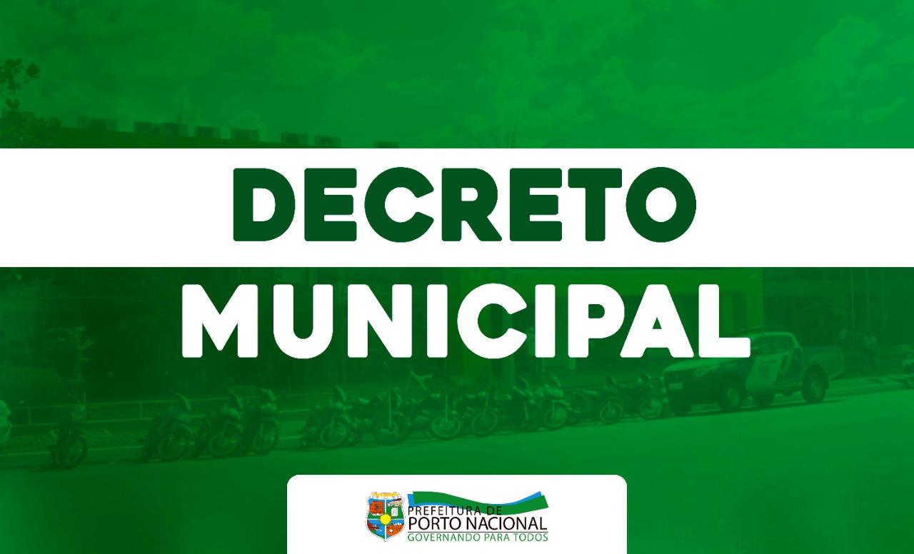 Prefeitura de Porto Nacional decreta estado de Calamidade Pública no município