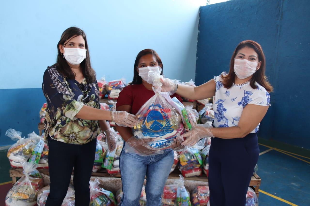 Kits de alimentação e higiene começam a ser entregues na Regional de Araguaína