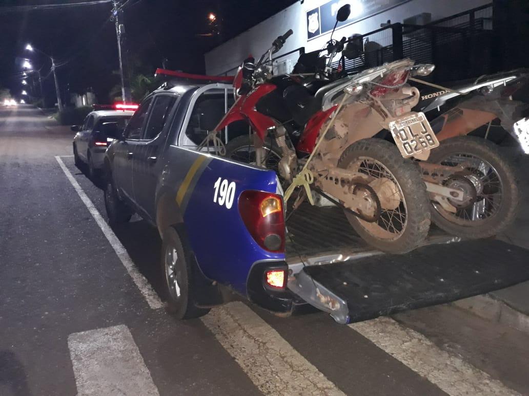 Suspeito de roubar motos em Pugmil e Caseara é preso pela PM
