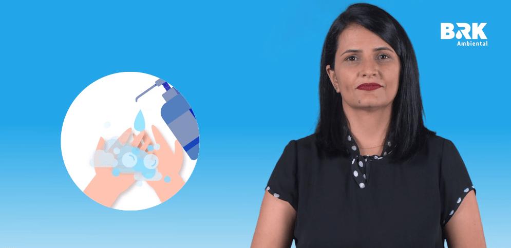 BRK Ambiental lança série Tocantinense para comunidade surda sobre prevenção ao coronavírus