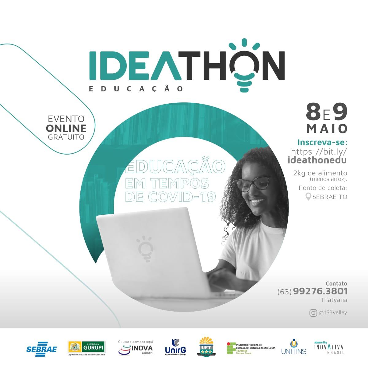Vencedores do Ideathon Gurupi serão conhecidos nesta sexta-feira, 07