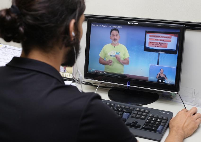 Governo do Tocantins estenderá preparatório para Enem até data de realização da prova