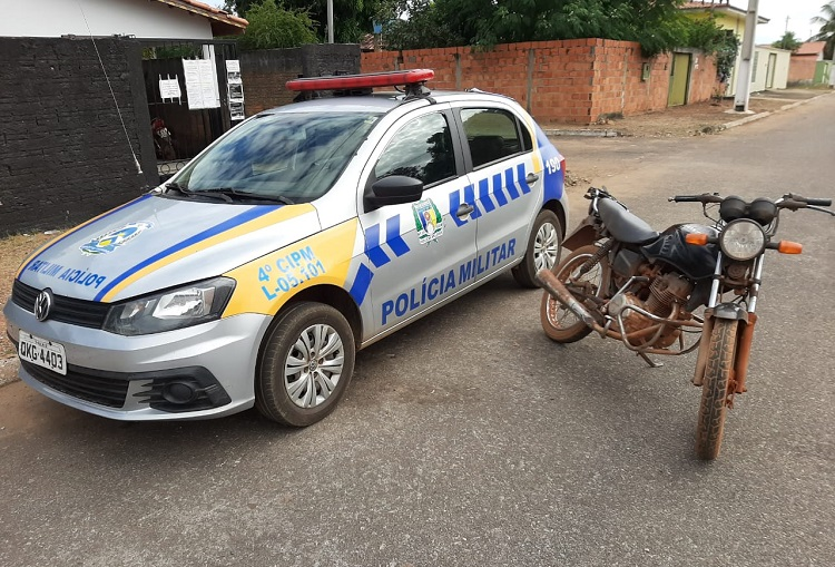 4ª CIPM recupera veículo com registro de Furto/Roubo em Pium
