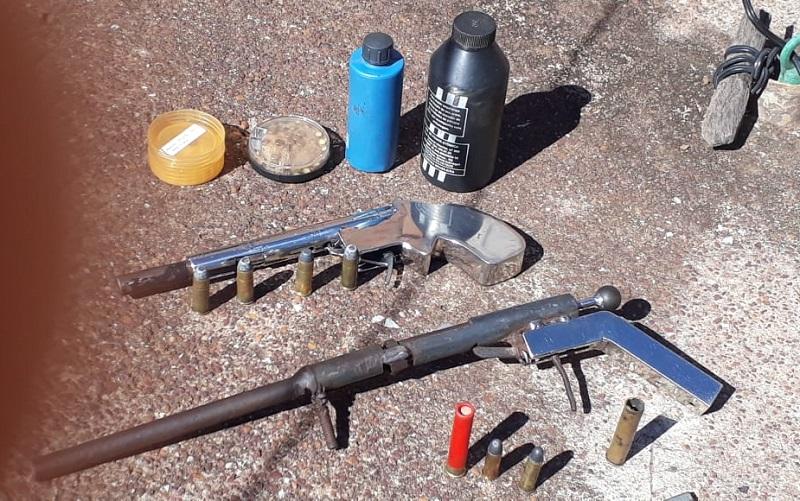 Homem é preso pela Polícia Civil com várias armas de fogo em Gurupi