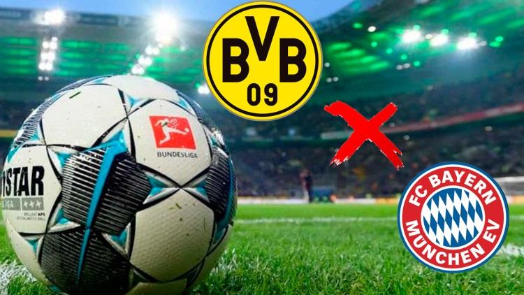 Veja onde assistir: Dortmund e Bayern, clássico que pode colocar fogo de vez na Bundesliga