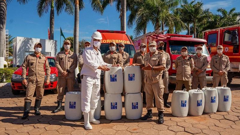 Paraíso do Tocantins recebe doações da empresa Plena Alimentos