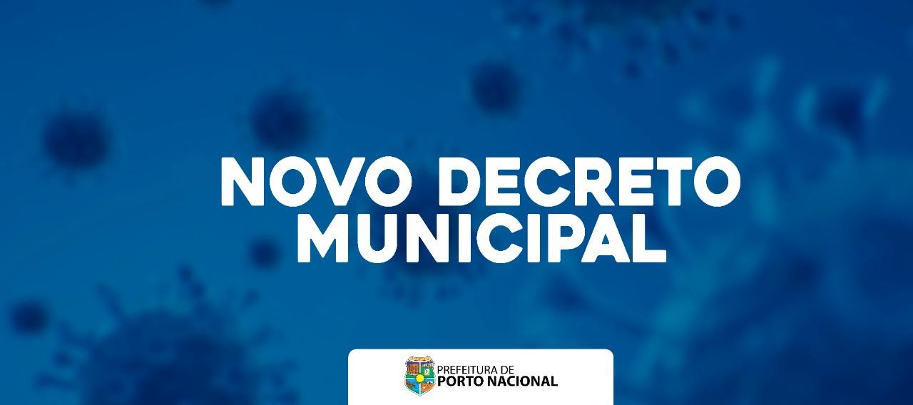 Prefeitura de Porto Nacional publica decreto suspendendo atividades artísticas e culturais e interrompe licitação para estrutura de eventos