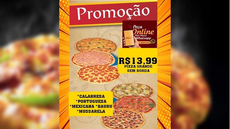 Pizzaria Serrana anuncia mega promoção em Paraíso: Pizza G por R$ 13,99