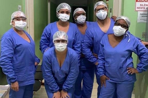 Prefeitura de Lagoa da Confusão produz roupa hospitalar para profissionais de saúde