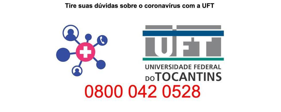 Projeto Orienta + Covid-19 da UFT começa a atuar hoje (02) para auxiliar os tocantinenses