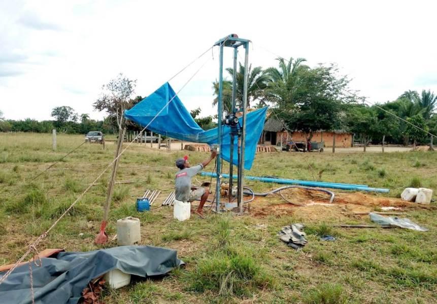 Prefeitura de Dois Irmãos beneficia pequenos produtores com perfuração de poços semi-artesianos