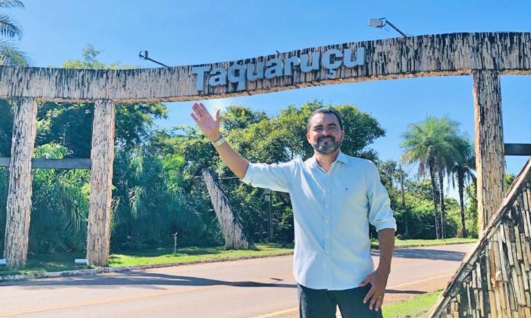 Vice-governador Wanderlei Barbosa lembra data histórica que transfere sede dos poderes para Taquaruçu