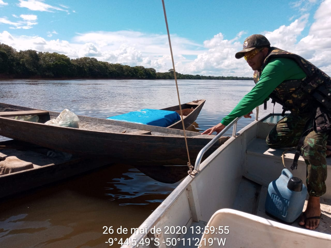 Naturatins realiza patrulhamento aquático em rios e lagos durante Operação Cantão