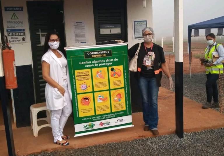 Covid-19: Saúde de Tabocão fortalece ações educativas e preventivas