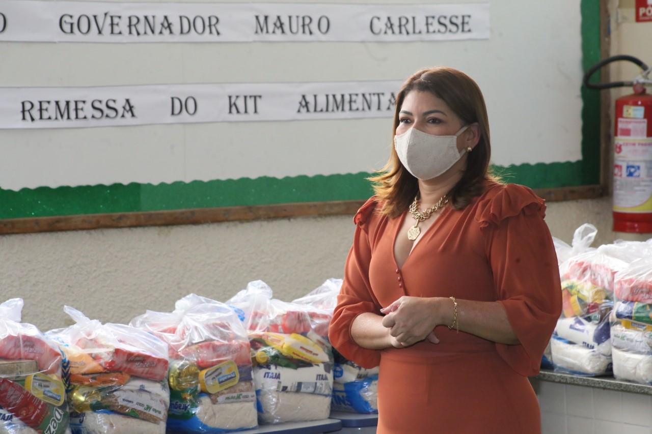 Cerca de 15 mil kits já foram distribuídos nas escolas da Regional de Gurupi na segunda etapa da entrega dos alimentos