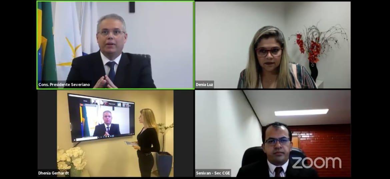 Durante live do TCE, gestor da CGE destaca iniciativas de transparência pública do Governo do Tocantins