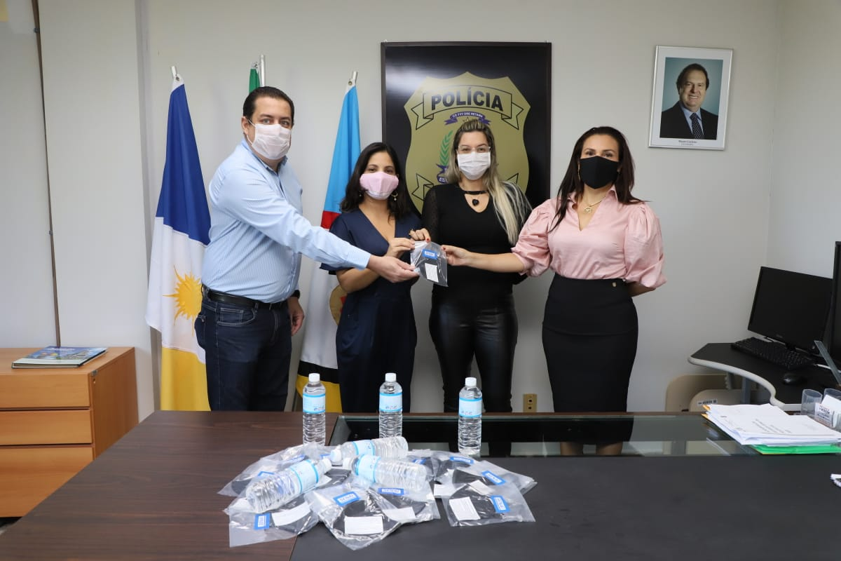Polícia Civil do Tocantins realiza análise de álcool em gel produzido pelo Senai Palmas