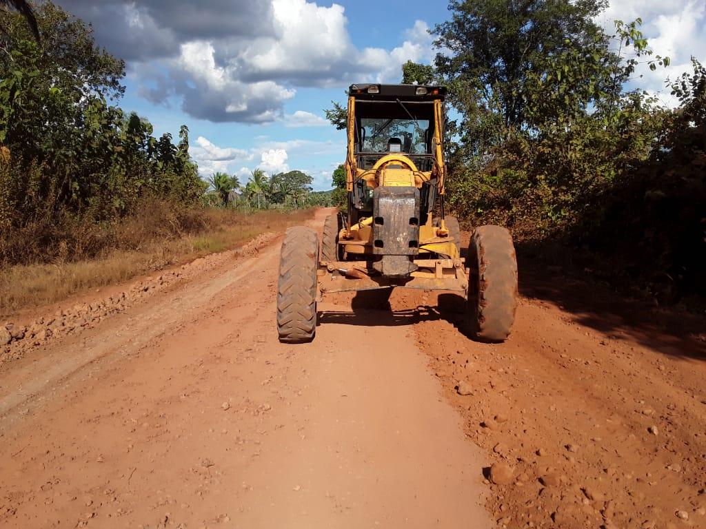 Governo do Tocantins inicia manutenção em duas rodovias do Bico do Papagaio