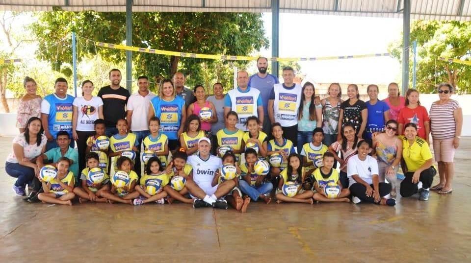 Secretaria Municipal de Educação de Miracema participa do Desafio Nacional Viva Vôlei