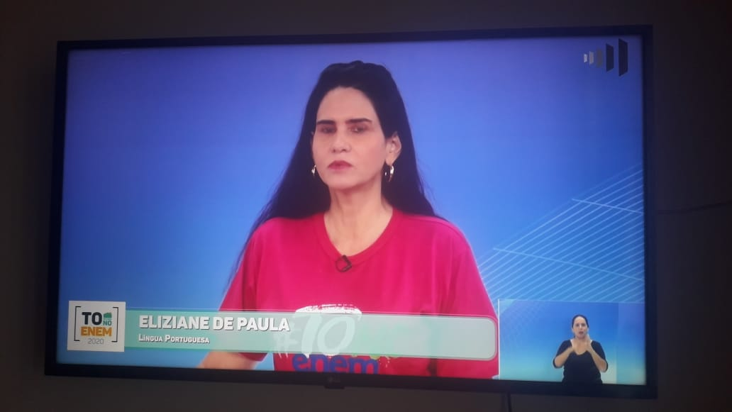 Aulas do 'TO de casa NO ENEM' estão sendo transmitidas diariamente pela TV Assembleia