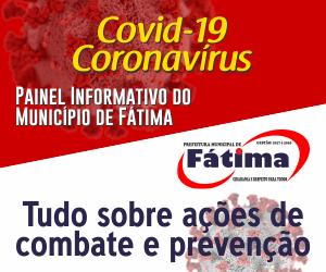 Covid-19: Painel Informativo do Município de Fátima (TO)