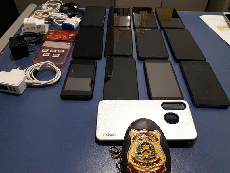 Polícia Civil desvenda furto em loja e recupera aparelhos celulares avaliados em R$ 15 mil reais em Formoso do Araguaia