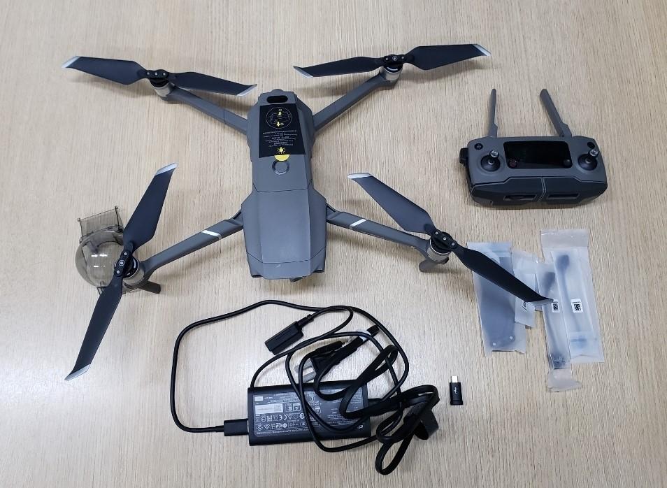 Acordo de não persecução penal resulta na entrega de drone ao serviço de inteligência da Polícia Civil