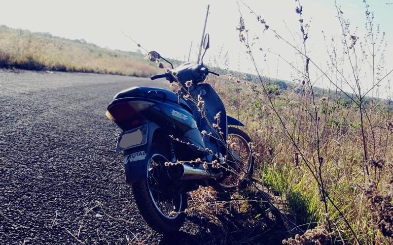 Moto roubada é recuperada pela Polícia Militar em Araguaína