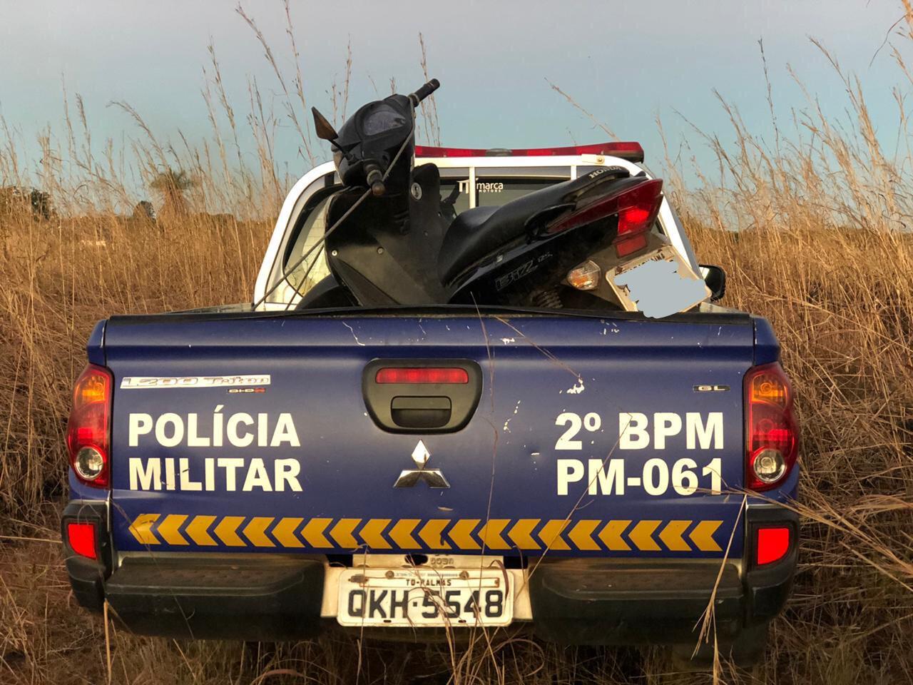 PM prende homem e apreende adolescente por receptação em Araguaína