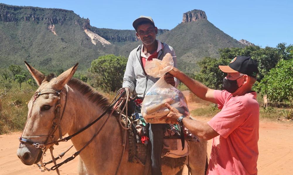 Governo do Tocantins finaliza entrega de cestas básicas na região do Jalapão e soma 22 mil famílias rurais beneficiadas