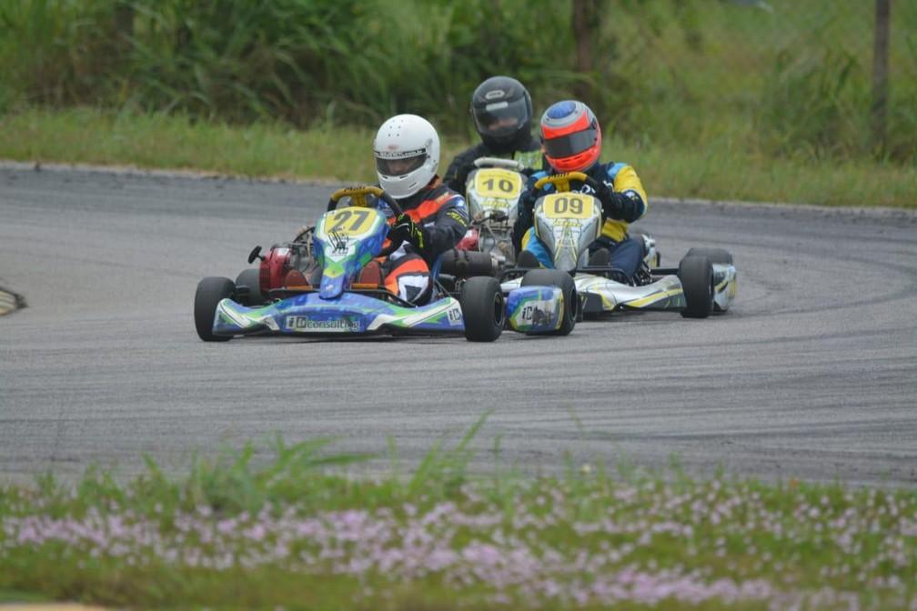 Pilotos do kart tocantinense voltam a treinar e foco é o brasileiro em dezembro