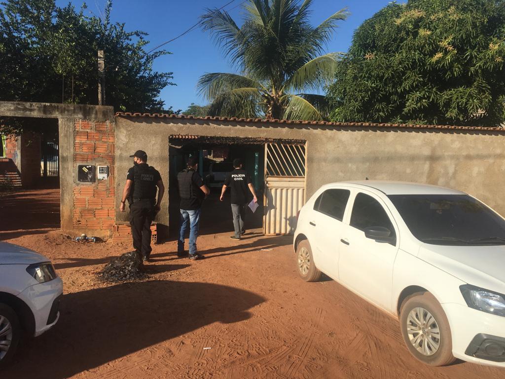 Operação da Polícia Civil prende suspeito de furto na região sul de Palmas