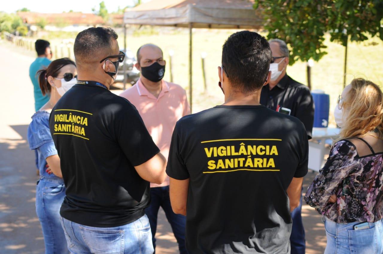 Prefeitura de Miracema intensifica medidas de contenção a Covid-19 no porto da Balsa