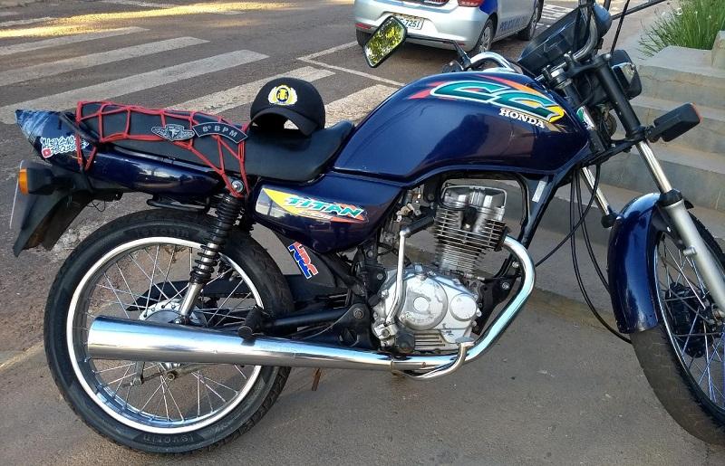 PM apreende menor com motocicleta adulterada em Paraíso do Tocantins