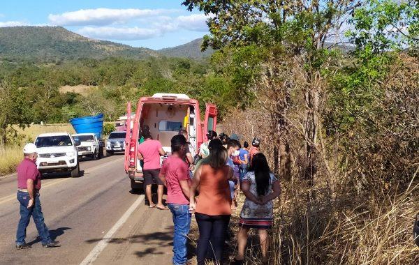 Motociclista morre em acidente na TO-080 entre Paraíso e Monte Santo