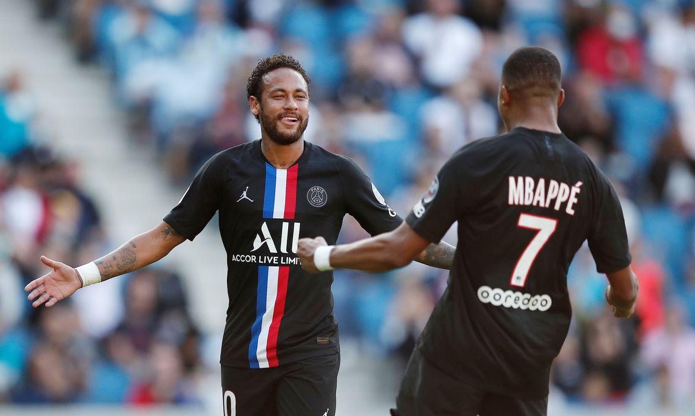 Com dois gols de Neymar, PSG faz 9 x 0 no Le Havre