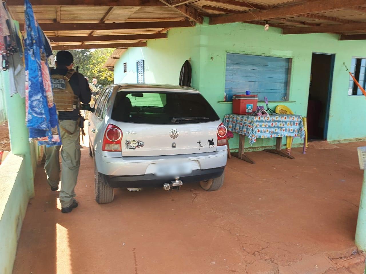 Polícia Civil prende empregado suspeito de ter ajudado grupo de assaltantes no roubo em fazenda no município de Figueirópolis