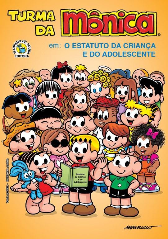 Revista Turma da Mônica produz edição especial em comemoração aos 30 anos do Eca