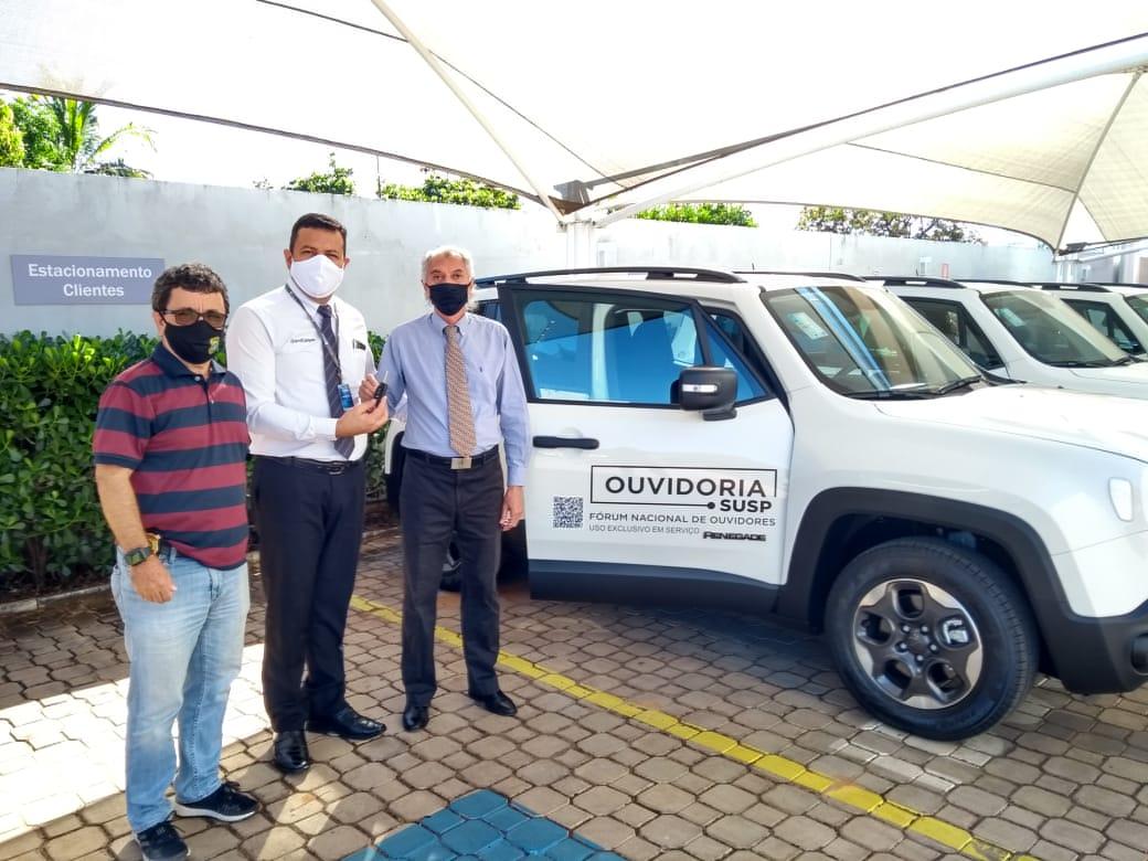 Ouvidoria da Segurança Pública conta com veículo para auxiliar nas atividades do órgão