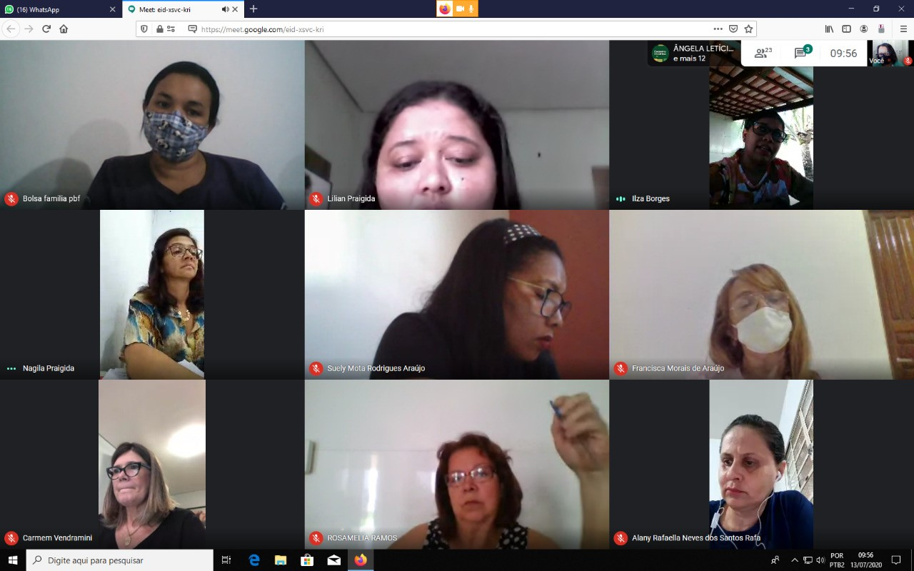 Governo do Tocantins promove atendimento virtual a todos os coordenadores de Cras