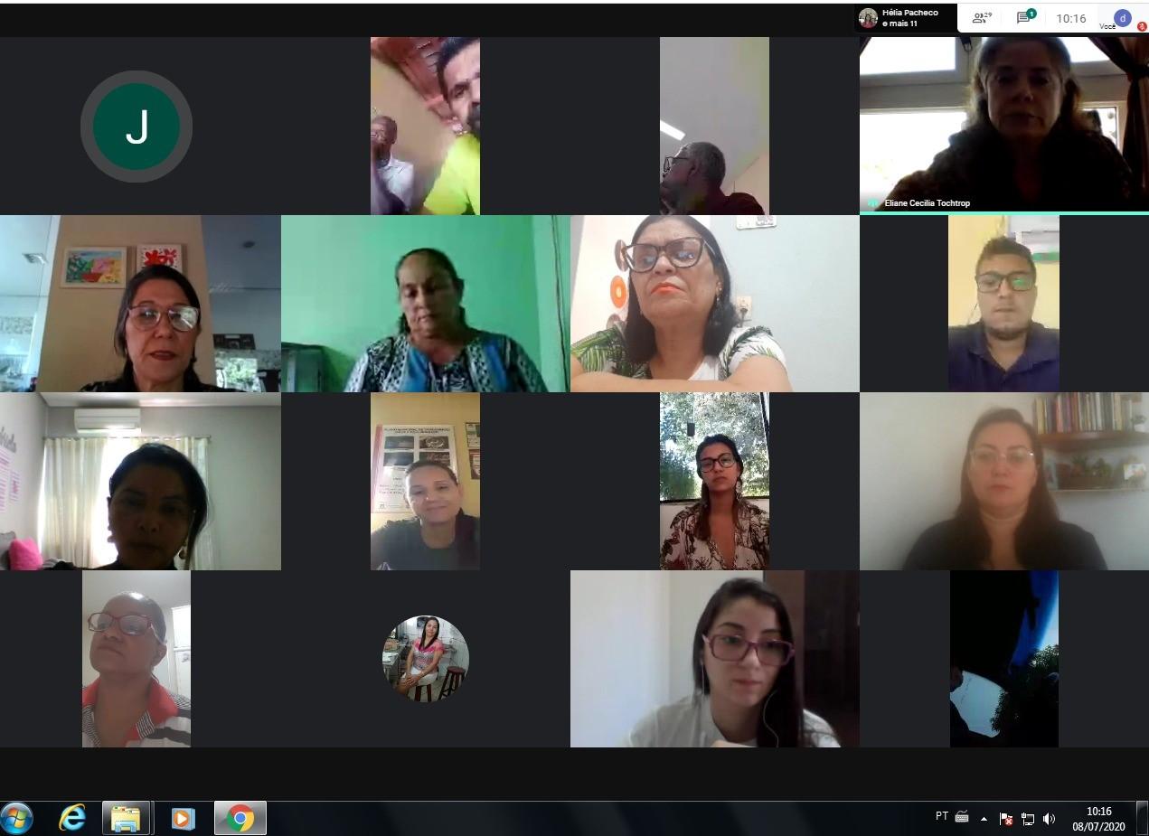 Fórum Estadual de Lixo e Cidadania do Tocantins realiza primeira reunião por videoconferência
