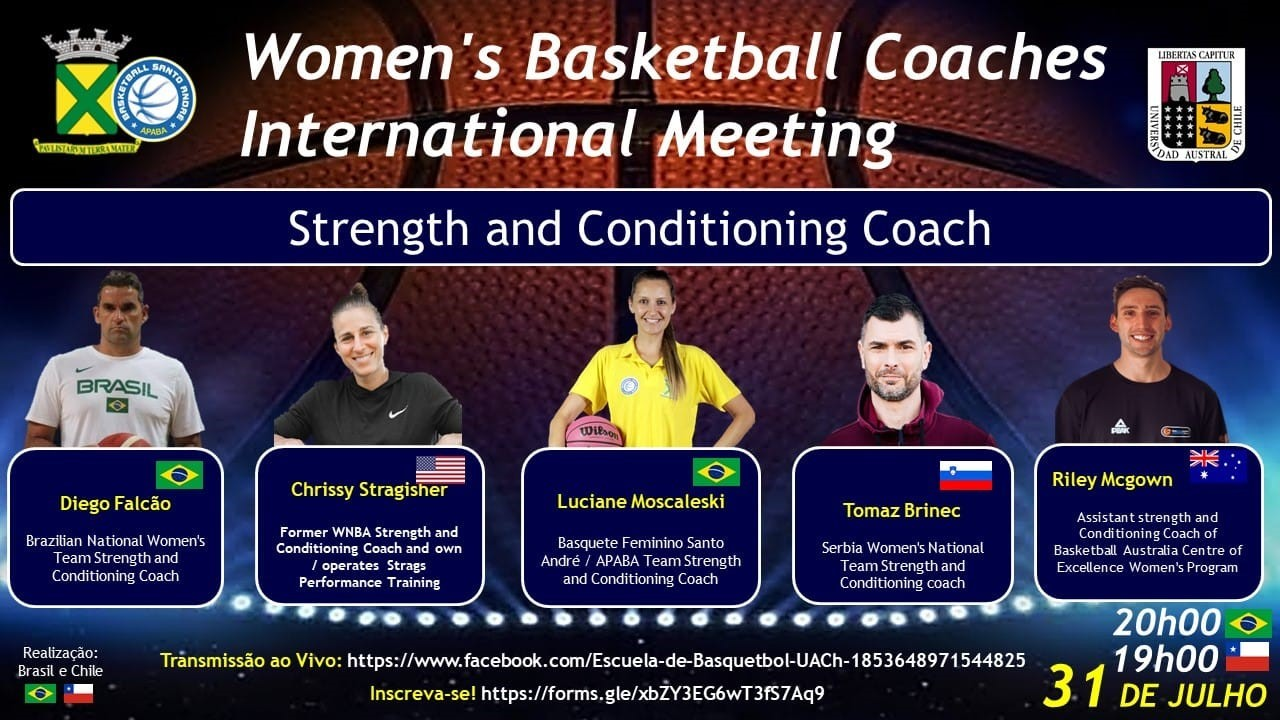 'Womens Basketball Coaches International Meeting' é aberto com 'chave de ouro'