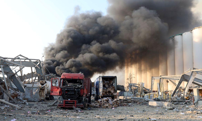 Líbano prende 16 em investigação sobre explosão no porto de Beirute