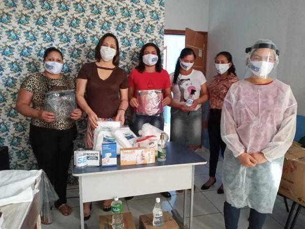 Assistência Social de Divinópolis do Tocantins adquire EPis para proteção do Covid-19
