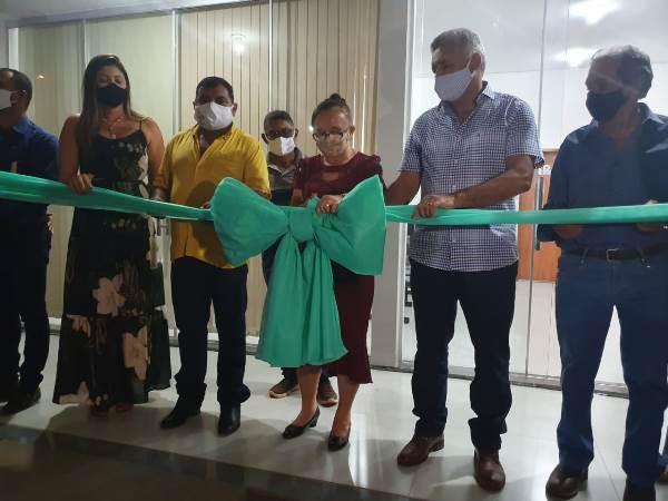 Chapada de Areia inaugura novo prédio da Prefeitura Municipal